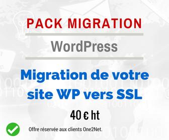 Pack migration WordPress vers SSL