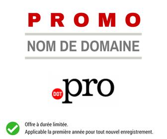 Promotion .PRO