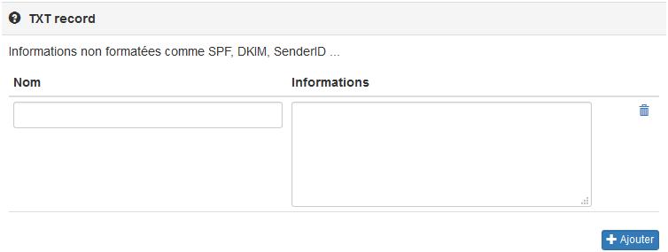 Fichier de zone avec saisie champ TXT