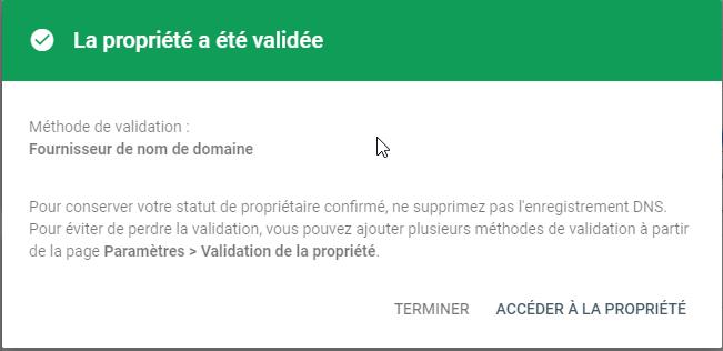 Google Search Console Propriété 3