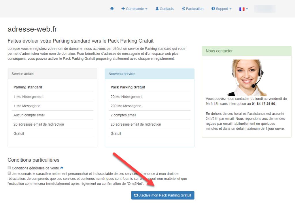 Pack parking 2