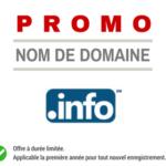 Promotion sur le nom de domaine .INFO