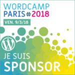 One2Net sponsor du 10e WordCamp Paris