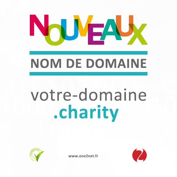 Nouveau nom de domaine Charity