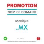 Promotion nom de domaine de MX