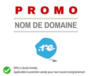 Promotion nom de domaine de La Réunion