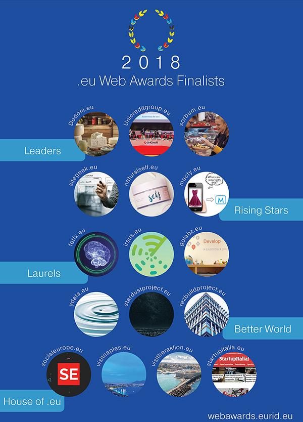 Finalistes eu web awards