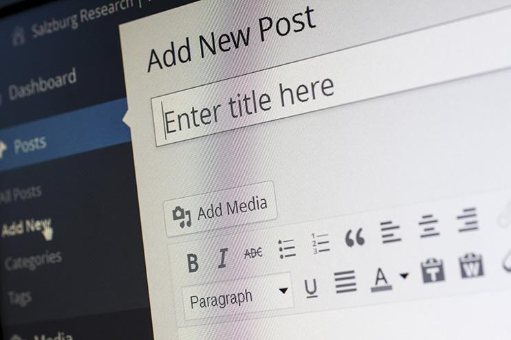 Editeur wysiwyg WordPress