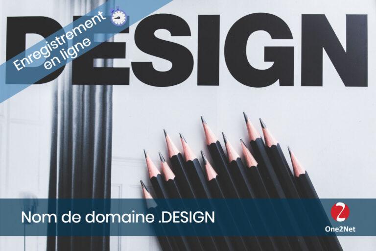 Nom de domaine Design