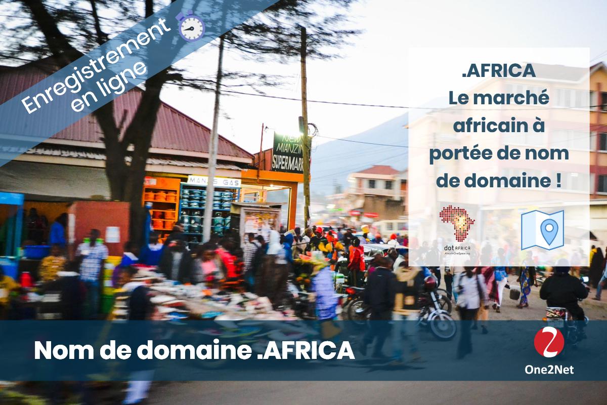 Nom de domaine .AFRICA (Afrique) - One2Net