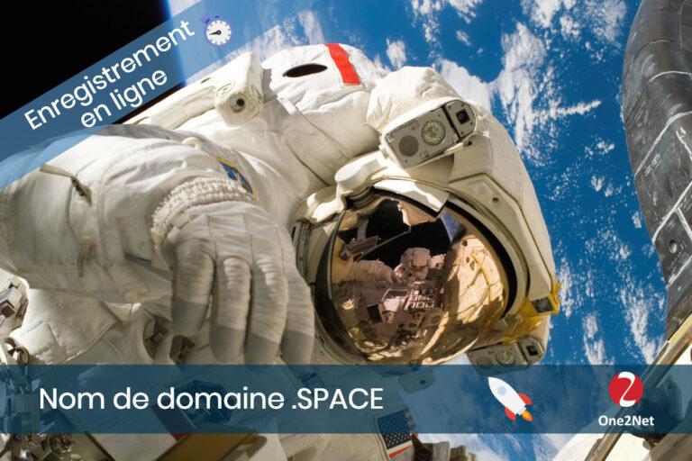 Nom de domaine Space