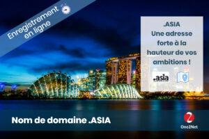 Nom de domaine ASIA