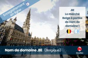 Nom de domaine Belgique