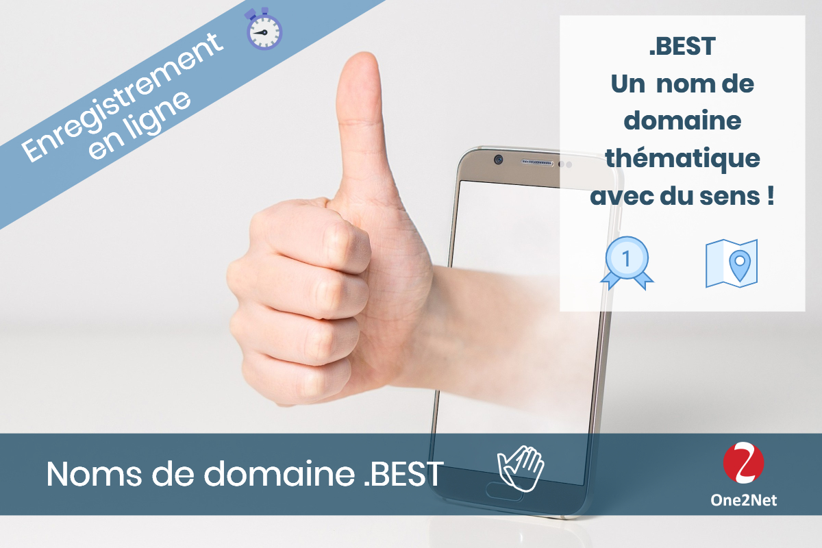Nom de domaine .BEST - One2Net
