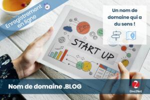 Nom de domaine Blog