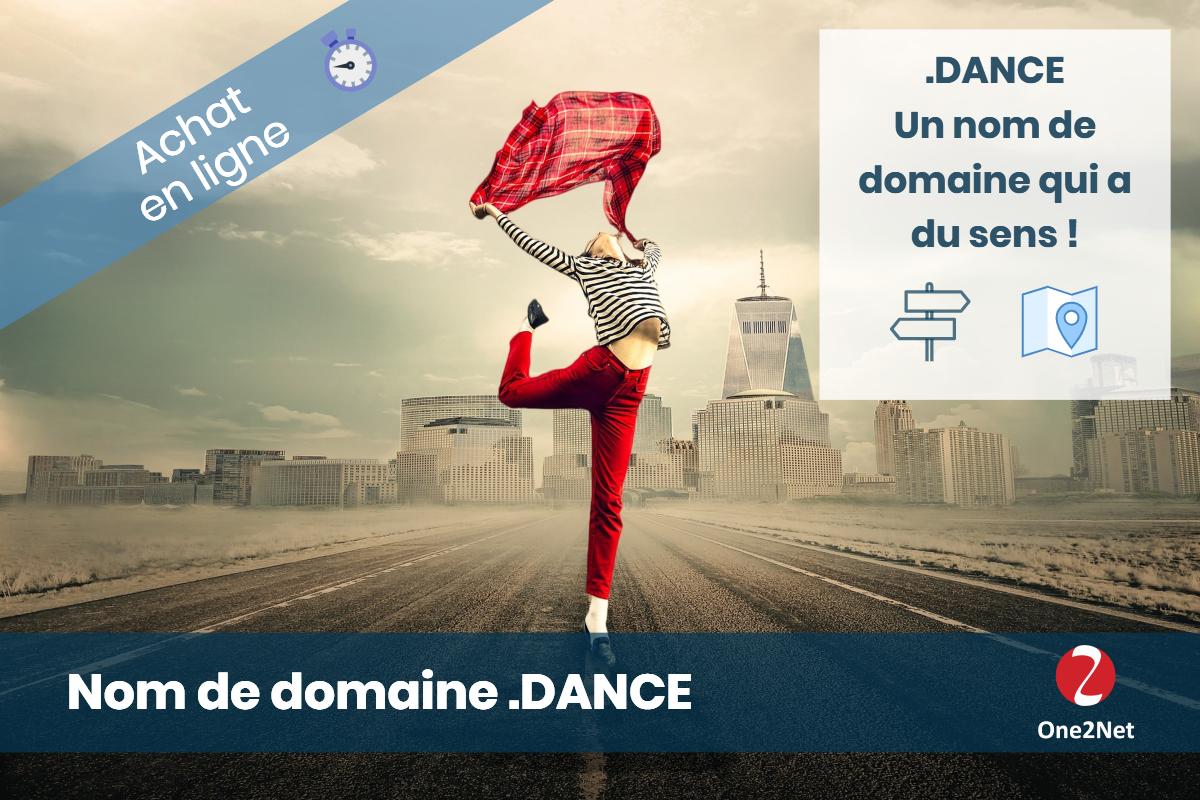Nom de domaine .DANCE - One2Net