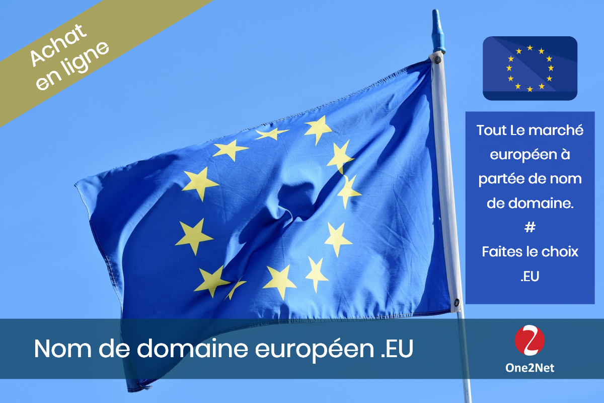 Nom de domaine .EU (Europe) - One2Net