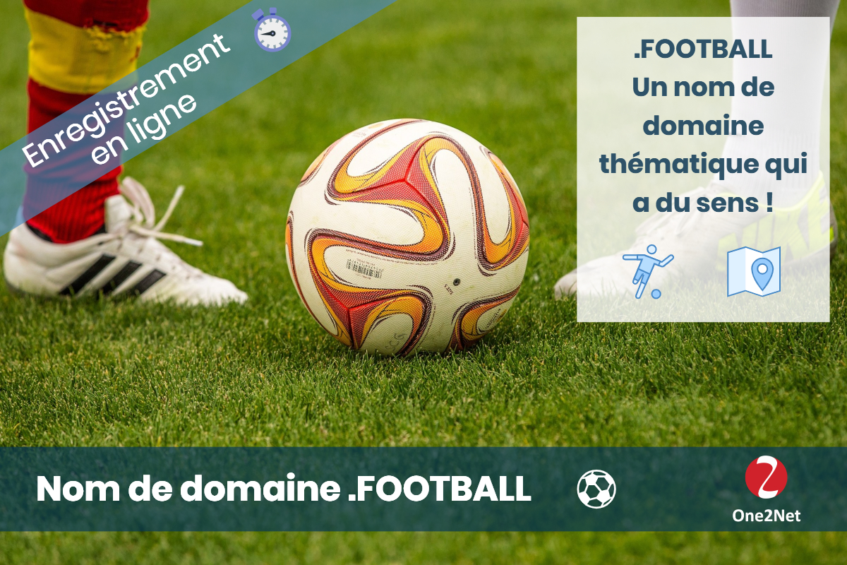Nom de domaine .FOOTBALL - One2Net
