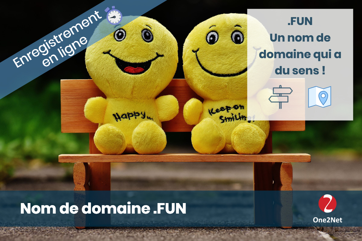 Nom de domaine .FUN - One2Net