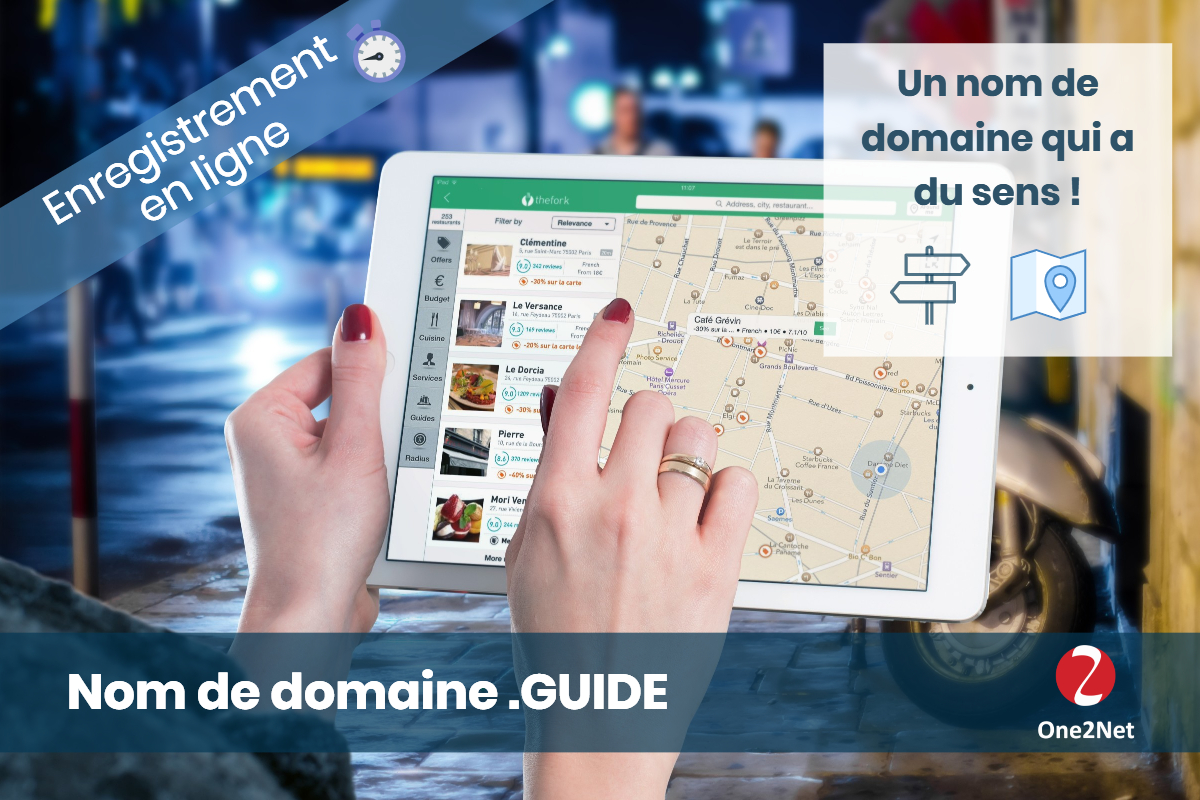 Nom de domaine .GUIDE - One2Net