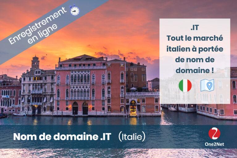Nom de domaine Italie