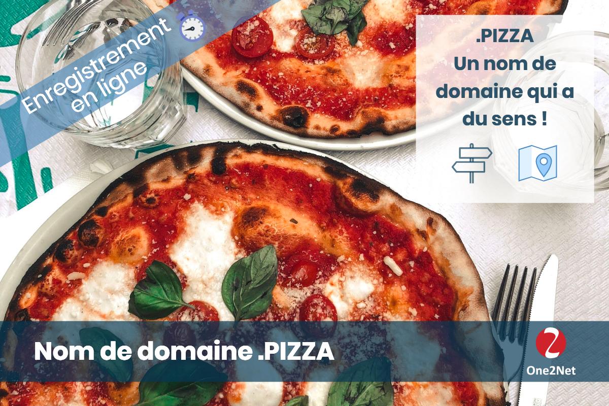 Nom de domaine .PIZZA - One2Net