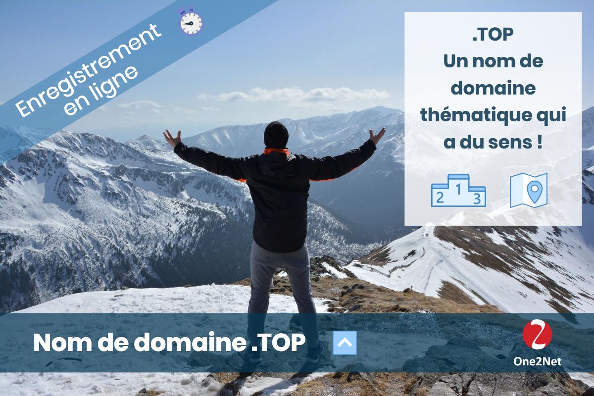Nom de domaine .TOP - One2Net