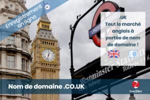 Nom de domaine anglais CO.UK