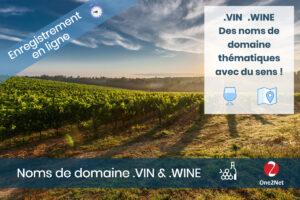 Nom de domaine VIN et WINE