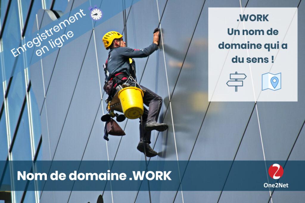 Nom de domaine Work