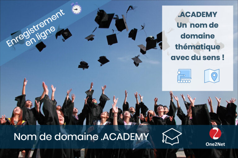 Nom de domaine Academy