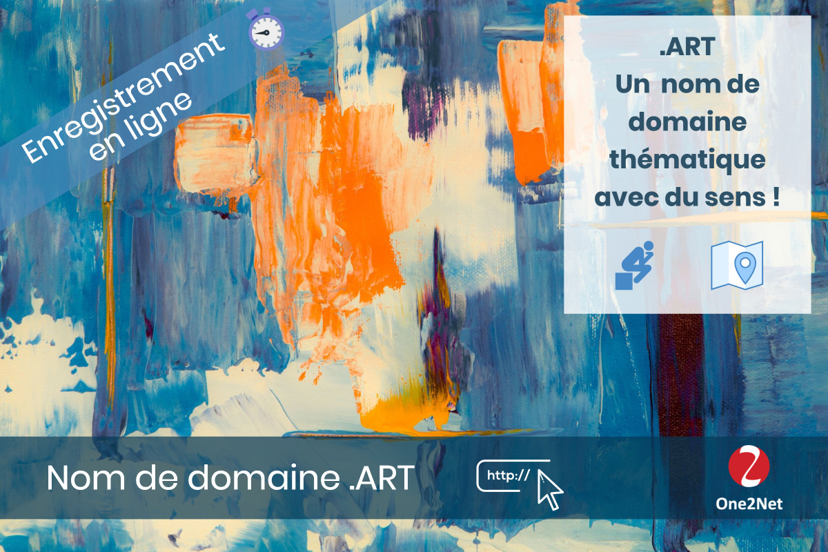 Nom de domaine .ART - One2Net