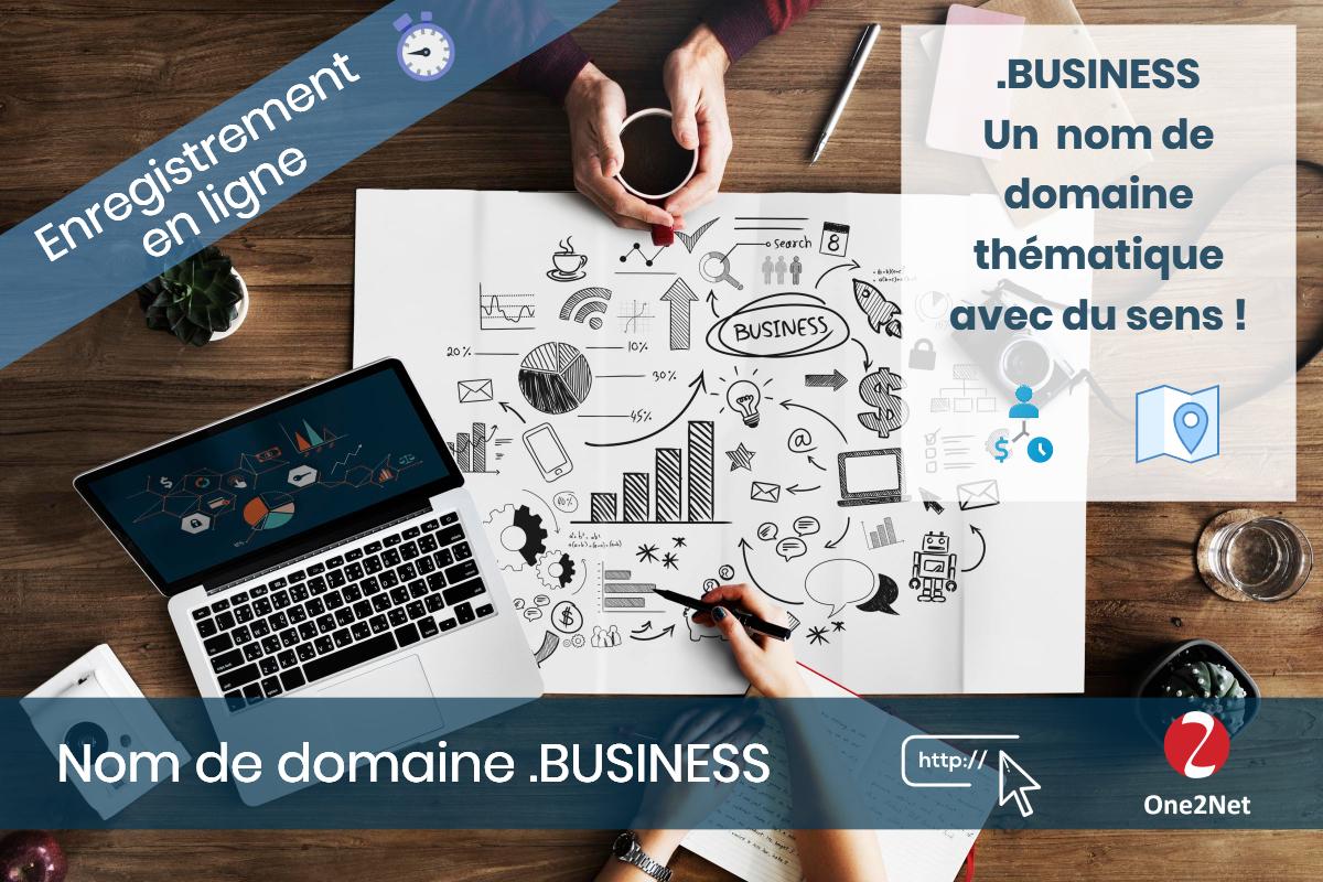 Nom de domaine .BUSINESS - One2Net