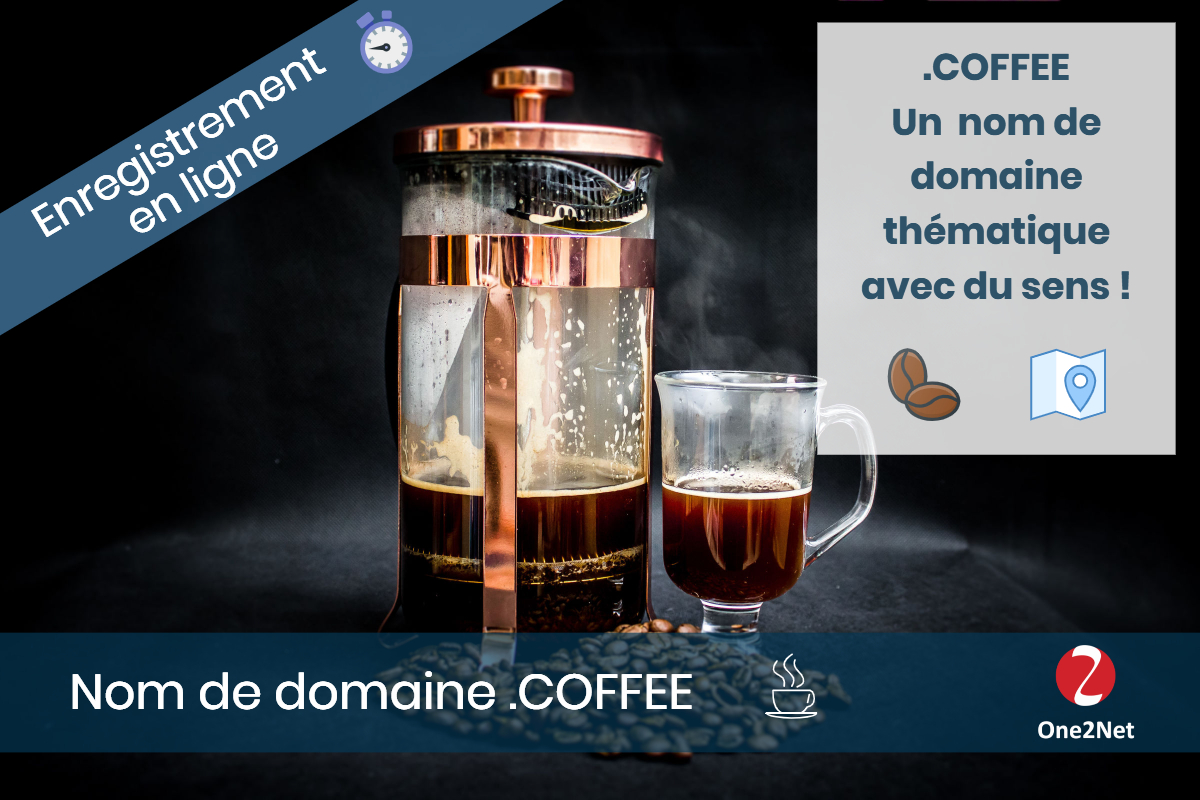 Nom de domaine .COFFEE - One2Net