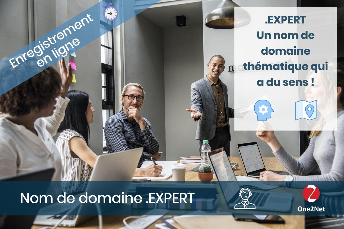 Nom de domaine .EXPERT - One2Net