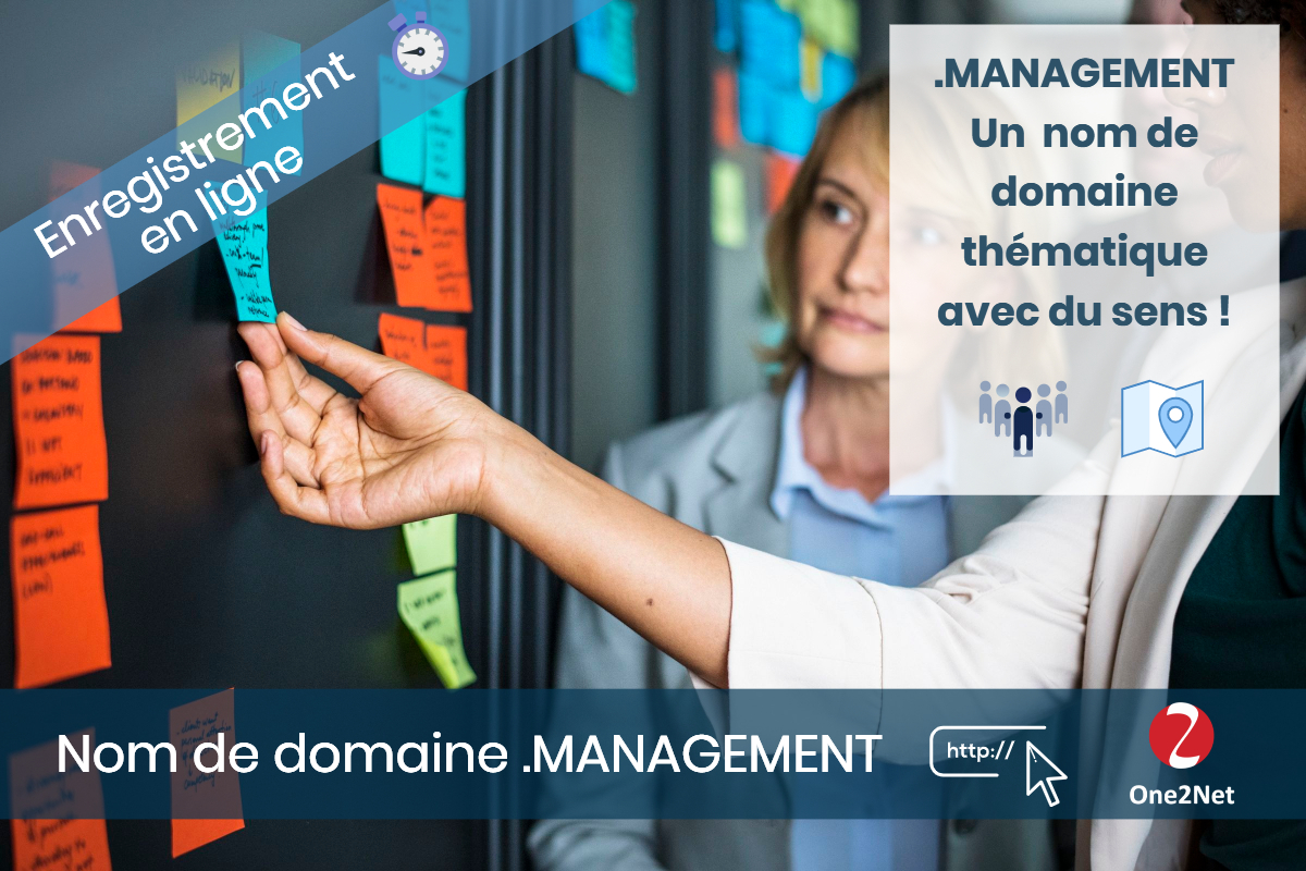 Nom de domaine .MANAGEMENT - One2Net