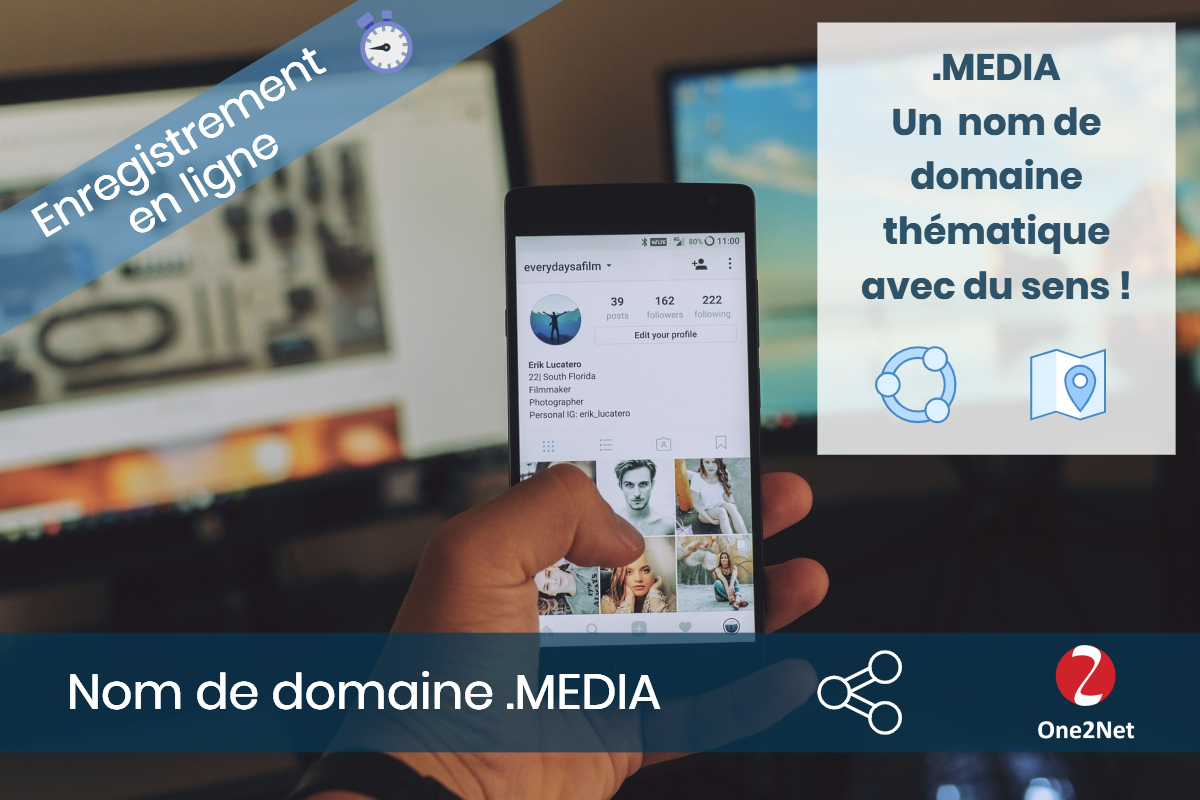 Nom de domaine .MEDIA - One2Net