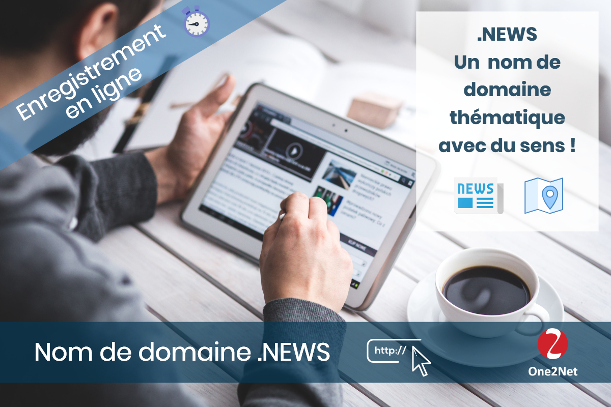 Nom de domaine .NEWS - One2Net