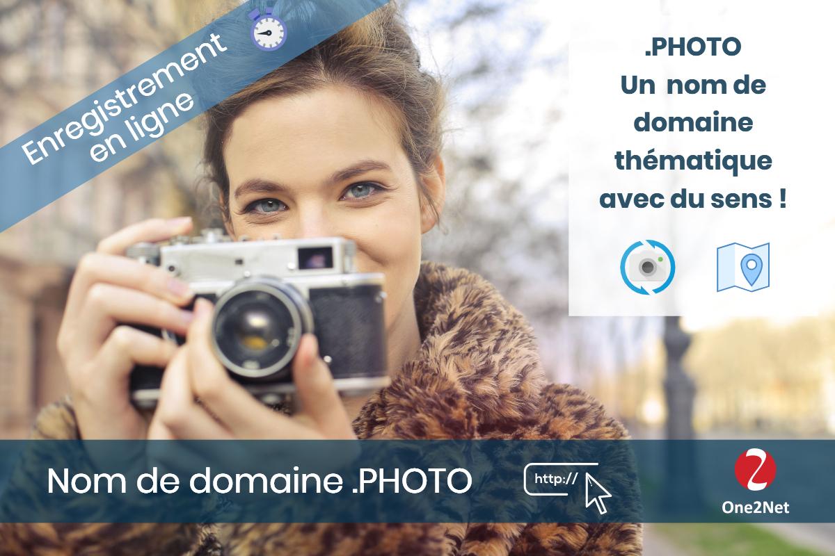 Nom de domaine .PHOTO - One2Net