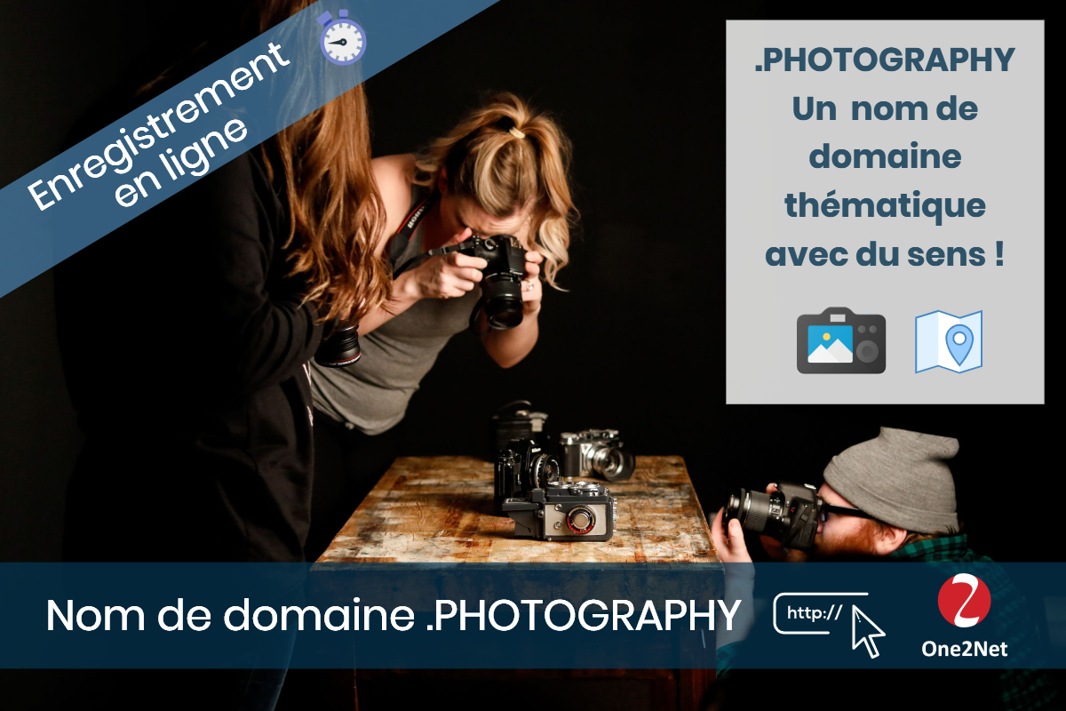 Nom de domaine .PHOTOGRAPHY - One2Net