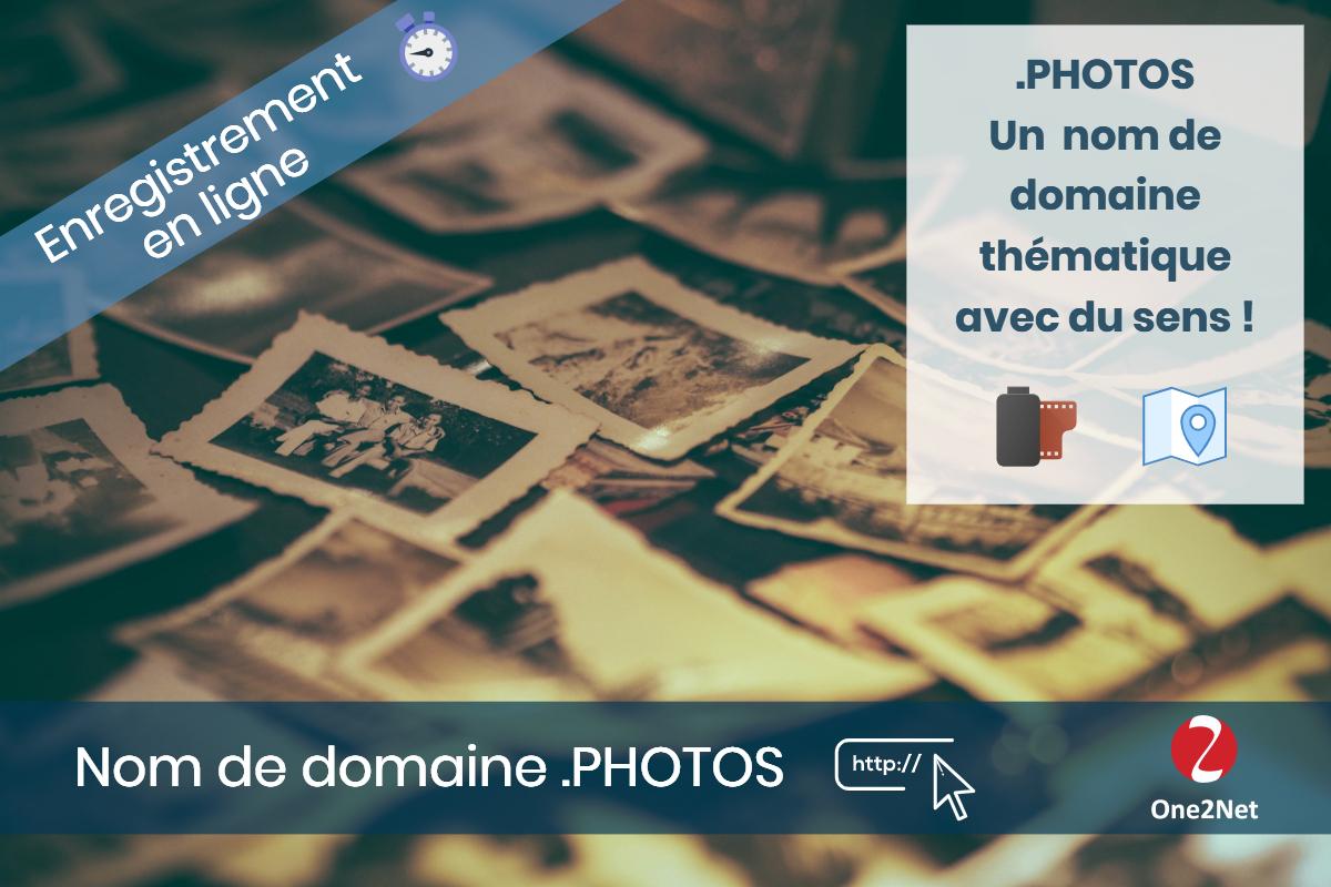 Nom de domaine .PHOTOS, nouveau gTLD