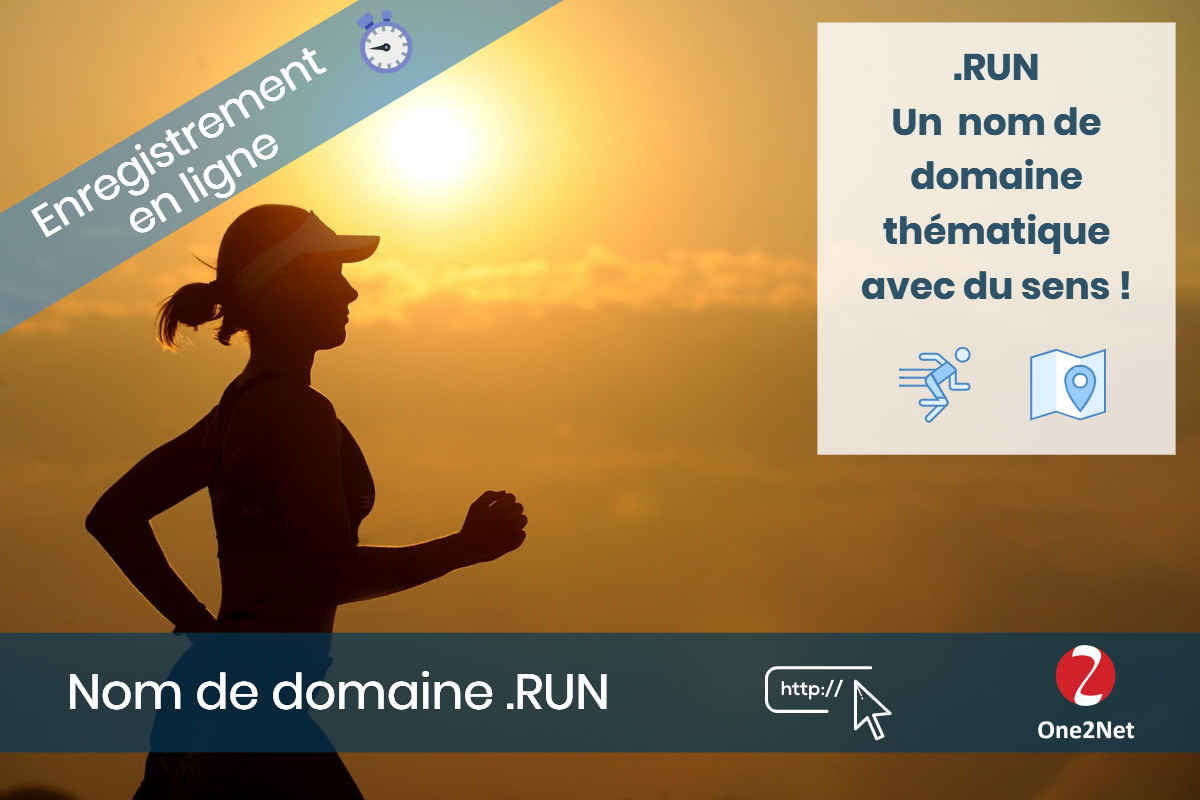 Nom de domaine .RUN - One2Net