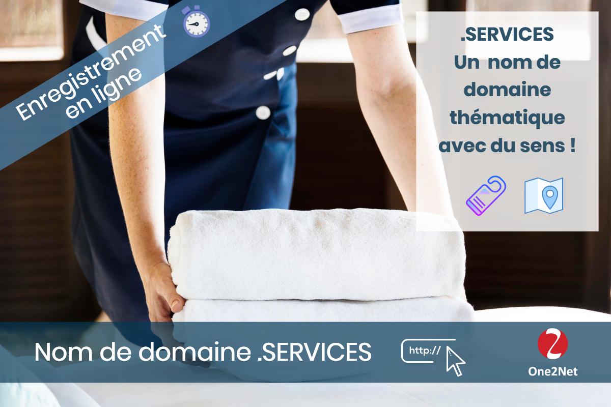 Nom de domaine .SERVICES - One2Net