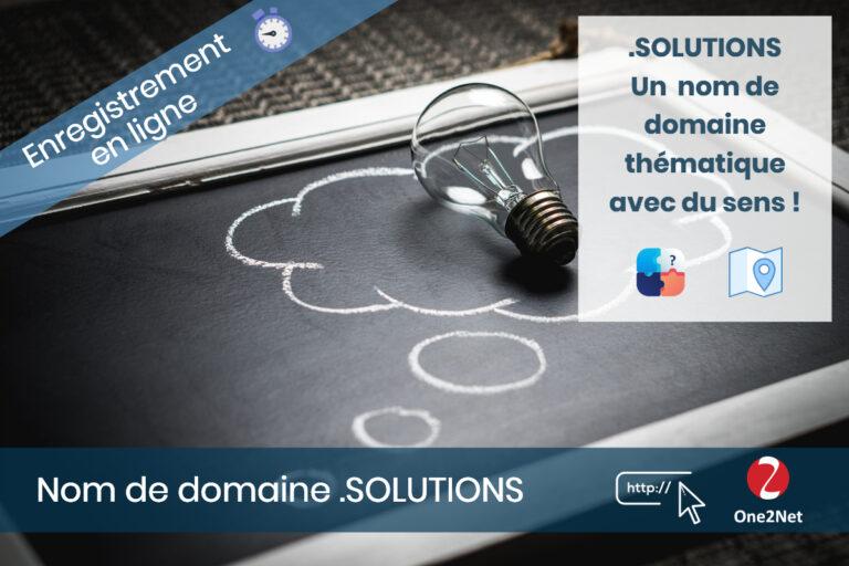 Nom de domaine Solutions