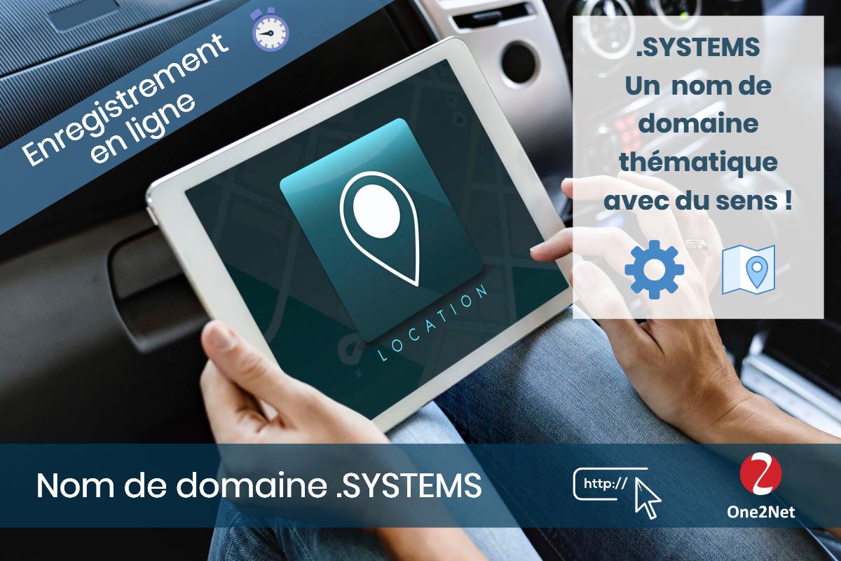 Nom de domaine .SYSTEMS , nouveau gTLD