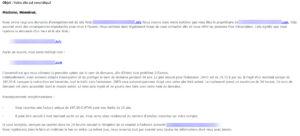 Email de sollicitation 3