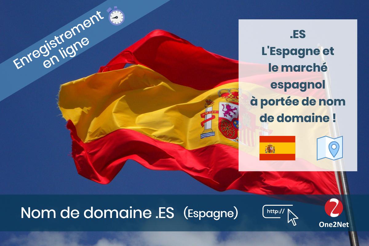 Nom de domaine .ES (Espagne) - One2Net
