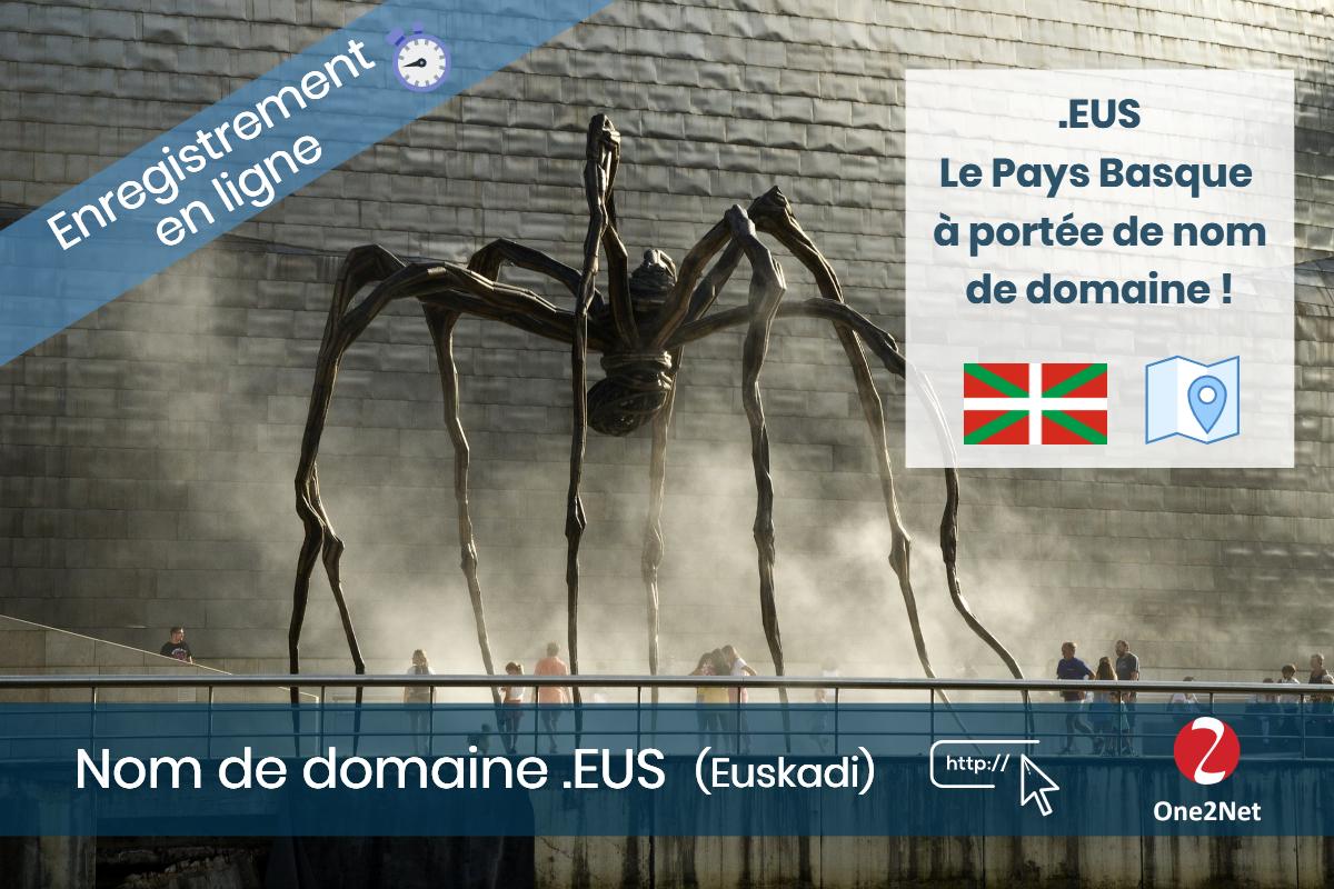 Nom de domaine .EUS (Euskadi - Basque) - One2Net