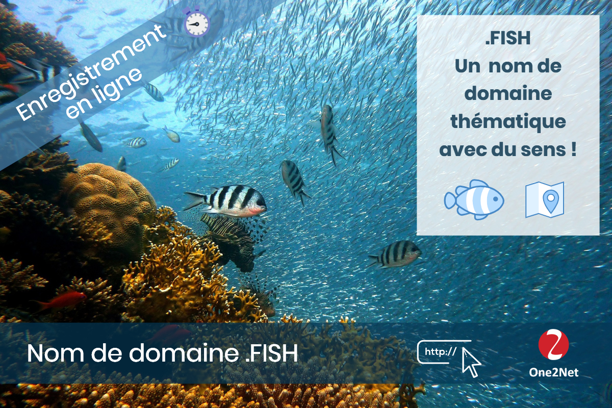Nom de domaine .FISH - One2Net