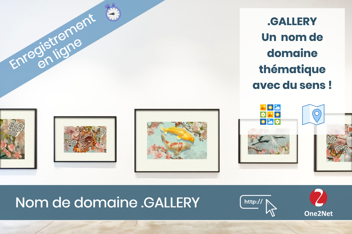 Nom de domaine .GALLERY - One2Net